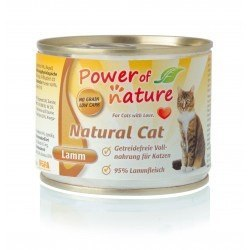 Power of Nature natural Cat - jagnięcina puszka 200 g