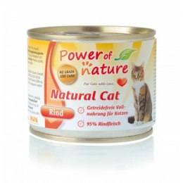 Power of Nature natural Cat - wołowina puszka 200 g