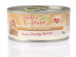 Power of Nature Tessa's Sunday Indyk z filetem z kaczki 70g