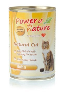 Power of Nature Natural Cat - kurczak puszka 400g